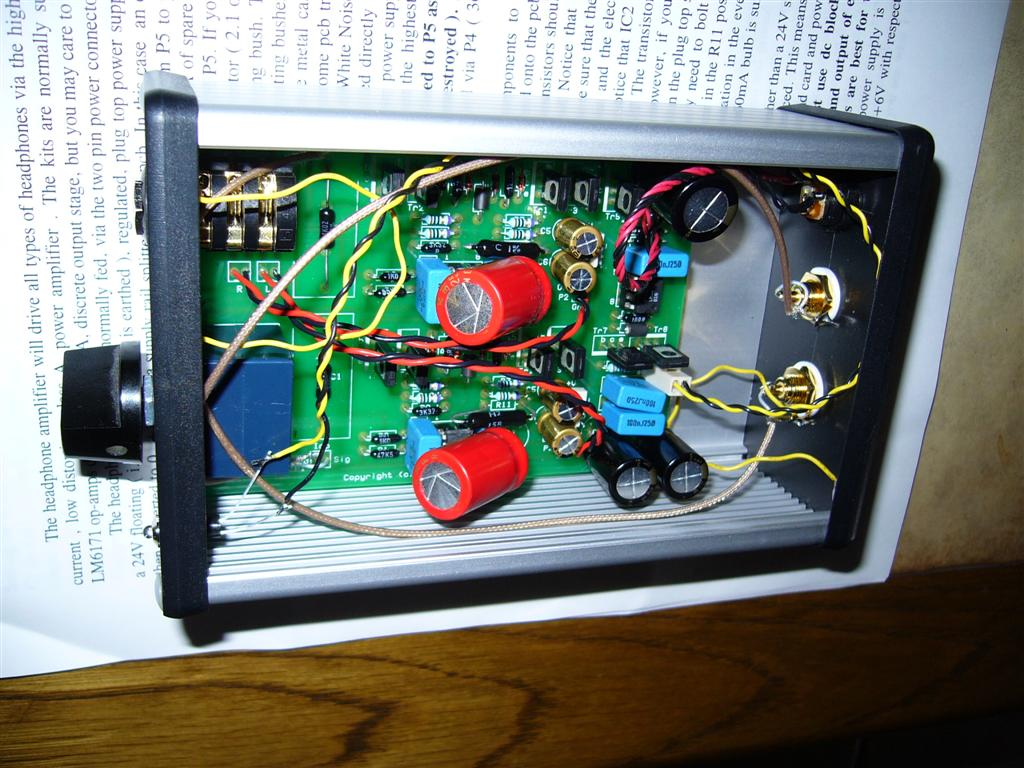 Audio Project Headphone Amp Wna Mkii Powerful Amplifier Using Opa134 Parts Please Klick On Pictures To Enlarge